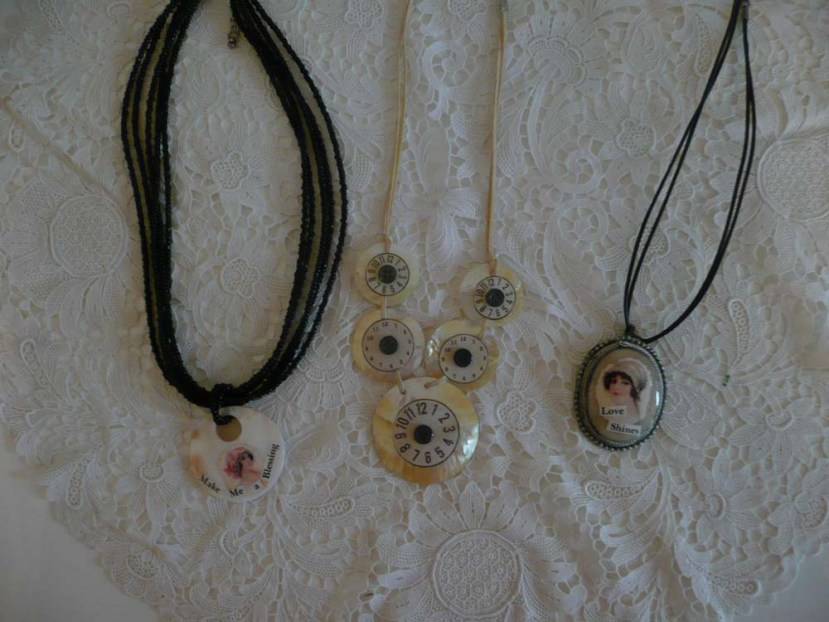Mixed Media Necklaces