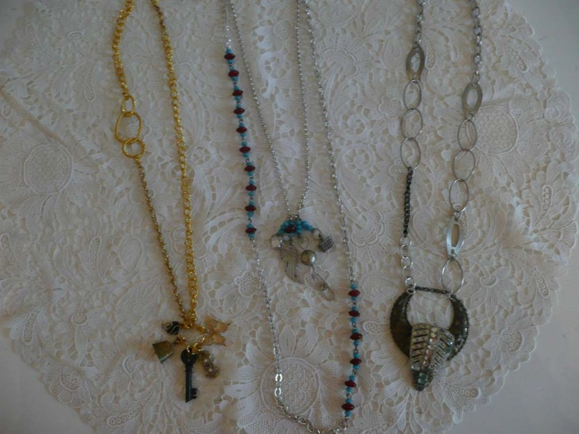 One of a Kind Trinket Necklaces