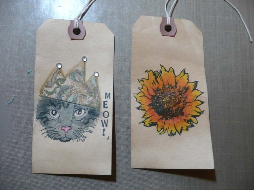 Two Hang Tags