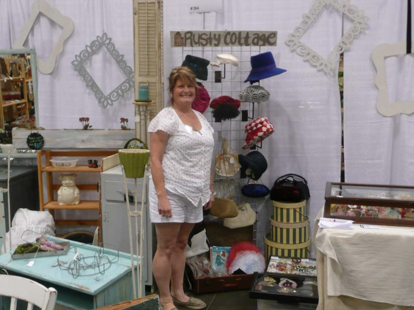 Liea Spano-Baily with some of her awesome wares!
