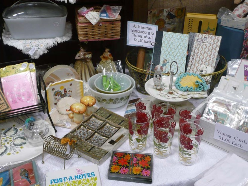 Lots of fun vintage wares.