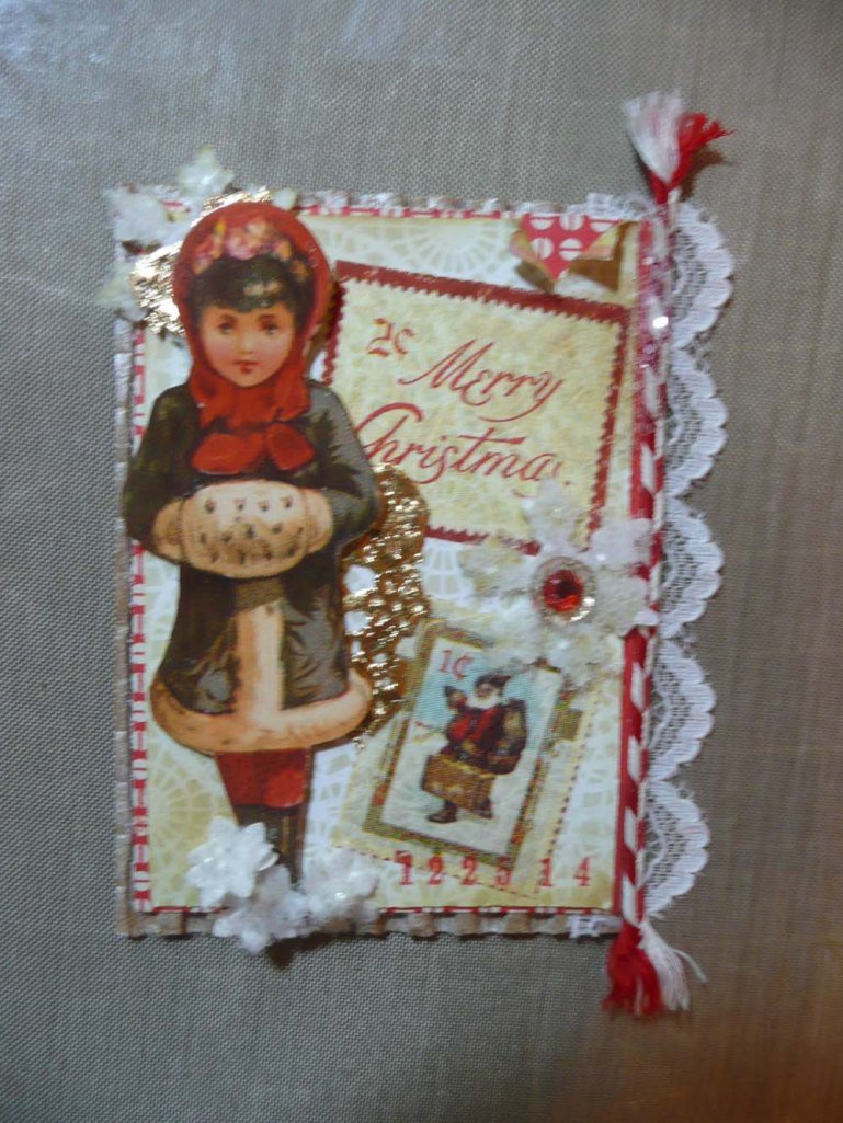 ATC for Beth's collection.