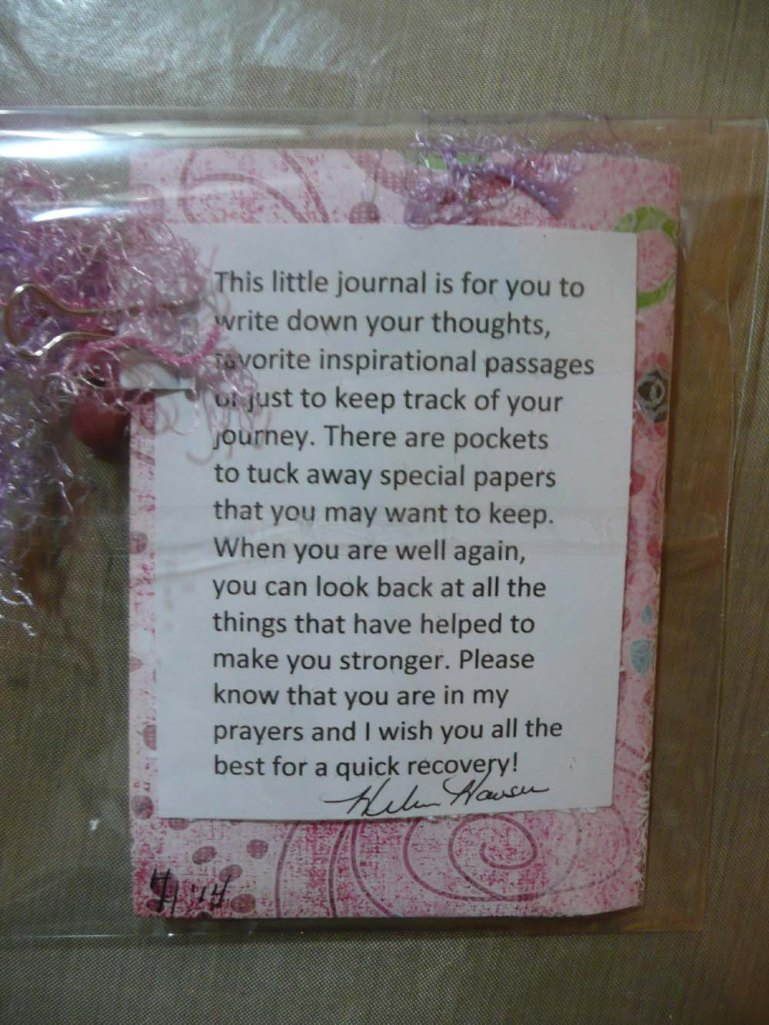 Note to journal recipients.