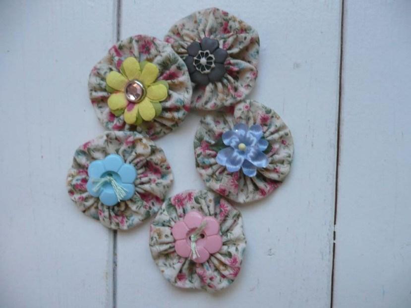 Yo-yo flowers