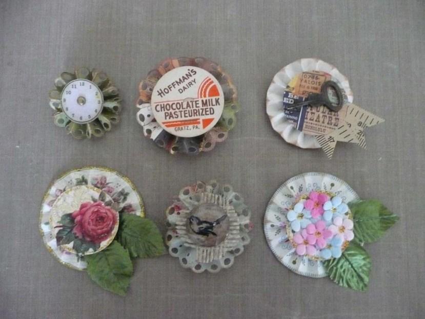 Paper Rosette Medallions
