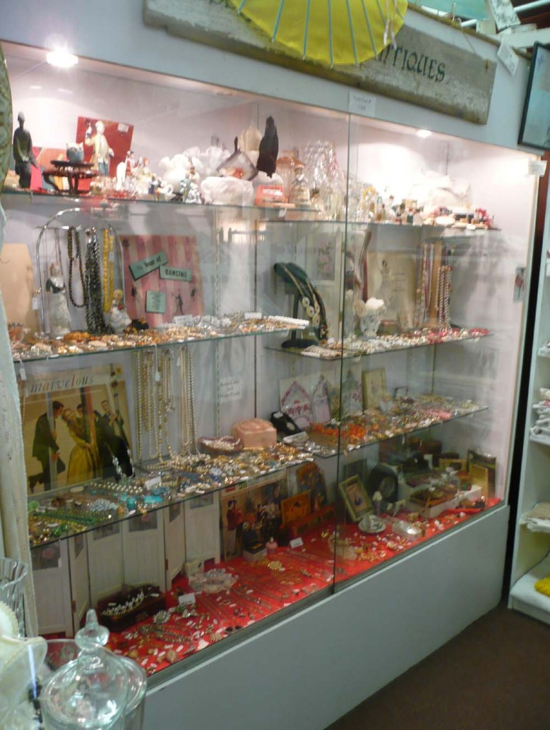 Showcase full of treasures.