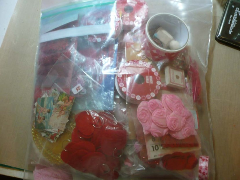 Big bag of Valentine's Day goodness.